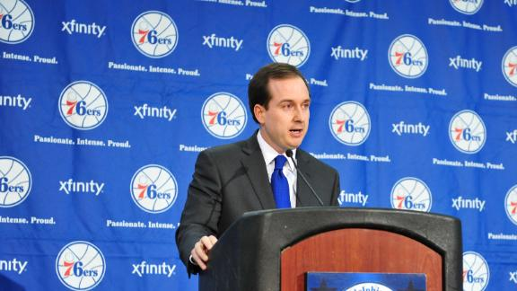 76ers GM says no decision yet on new coach