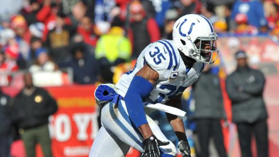 Colts' Lefeged arrested, faces gun charge