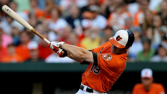 Davis crushes two homers as O's pound Yanks