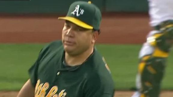 Video - Colon Leads A's To Win