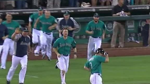 Video - Mariners Walk Off With Win