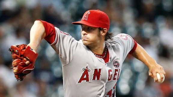 Angels run streak to 6 behind Hamilton, Wilson