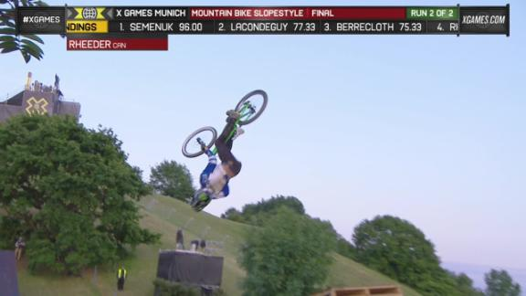 Brett Rheeder wins first Mountain Bike Slopestyle gold - ESPN Video - ESPN