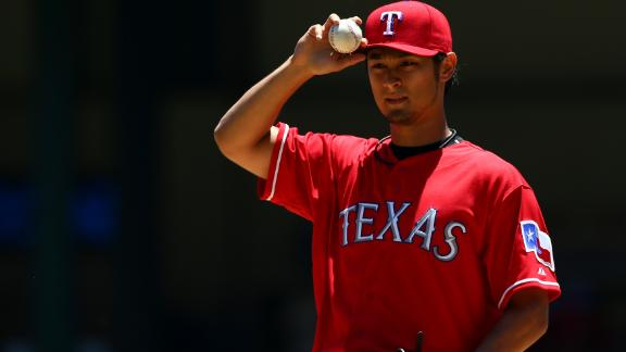 Darvish halts Reds for first victory since May