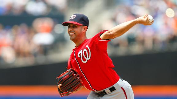 Nats rough up Mets rookie Wheeler in rout