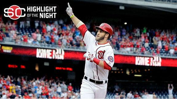 Harper homers in return as Nats top Brewers