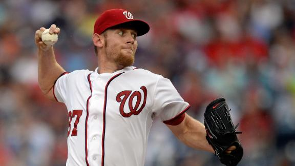 Brewers get to Storen, spoil Strasburg's gem