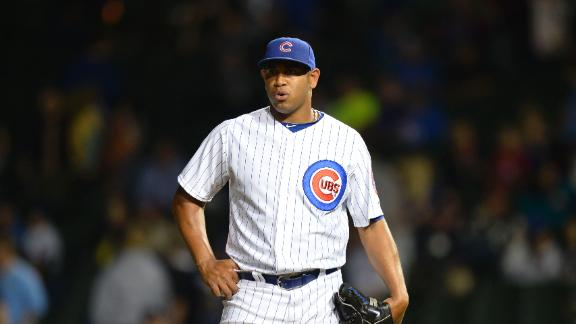 Cubs trade Marmol to Dodgers for Guerrier
