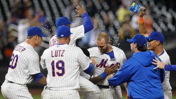 Video - Mets Walk Off With Win