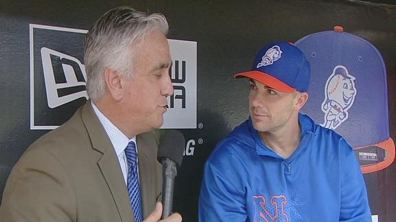 Video - Pedro Gomez In The Dugout with David Wright