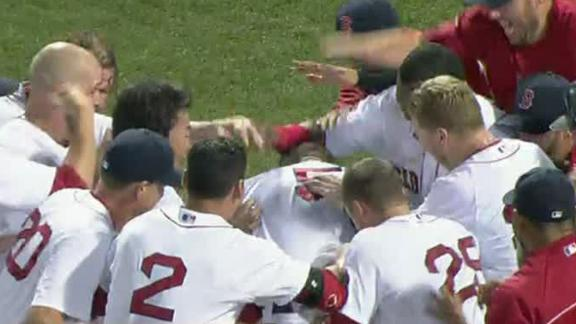 Gomes' walk-off HR keeps Red Sox rolling