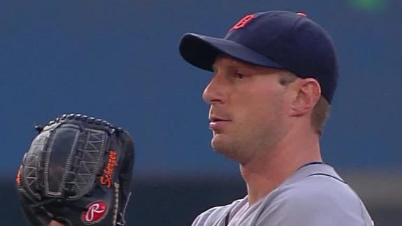 Scherzer 1st pitcher in 27 years to start 13-0