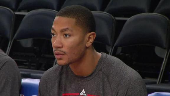 Video - Derrick Rose Continuing Rehab