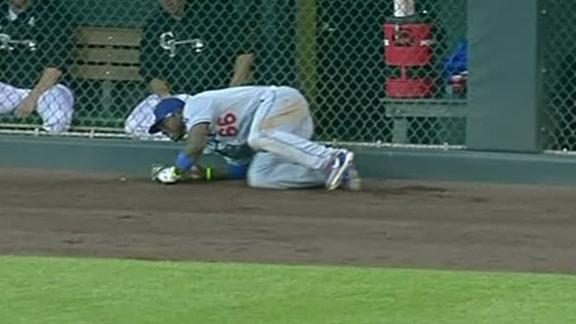 Video - Dodgers Win, Puig Suffers Bruised Hip