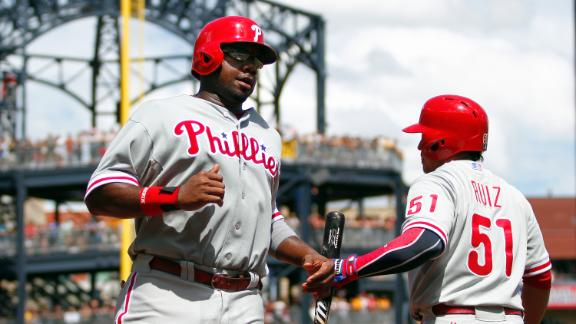 Hamels, Phillies hand Pirates' Cole first loss