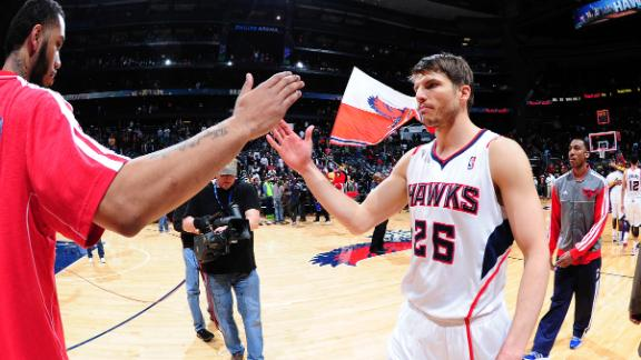 Video - Sources: Korver Agrees With Hawks