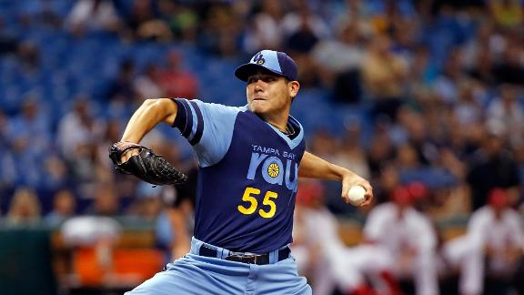 Moore wins again as Rays blank White Sox