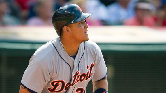 Cabrera homers as Tigers dominate Indians