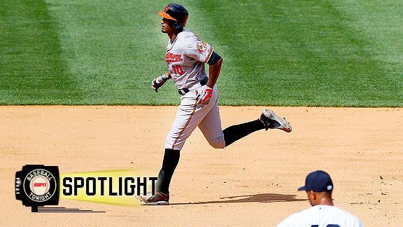 Video - Jones Lifts Orioles Past Yankees