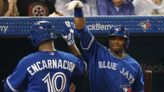 Redmond gets first win as Jays roast Twins