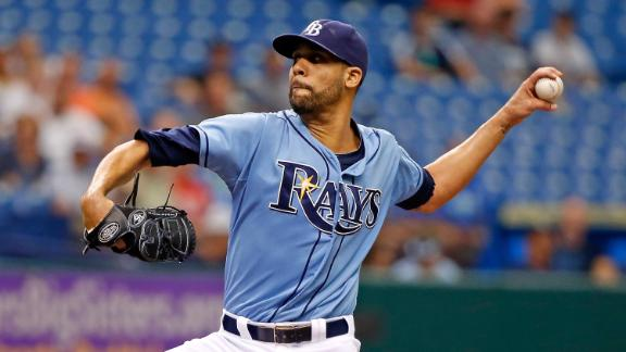 Price goes distance as Rays sweep White Sox
