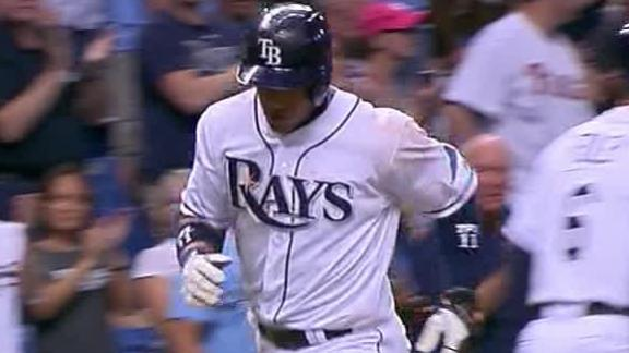 Video - Rays Pick Up 50th Win Of Season
