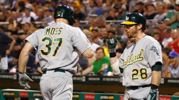 Video - A's Hold Off Pirates