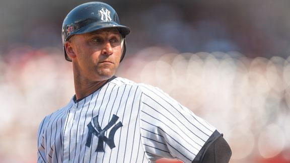 Jeter pushing Yankees to speed up return