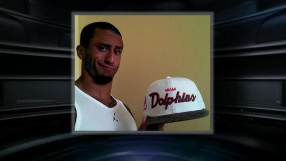 Video - Reaction To Kaepernick's Dolphins Hat