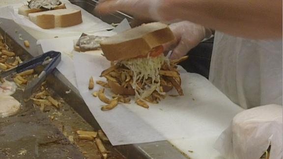 Video - Famous Primanti Brothers sandwiches at PNC Park