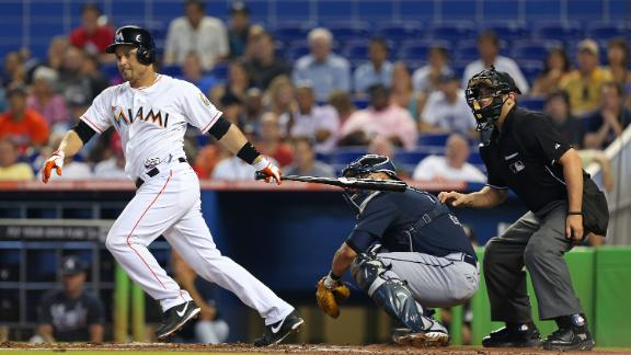 Video - Marlins Beat Braves To End Skid
