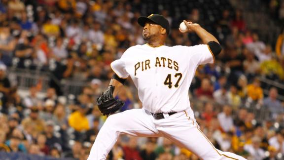 Video - Liriano, Pirates Blank A's