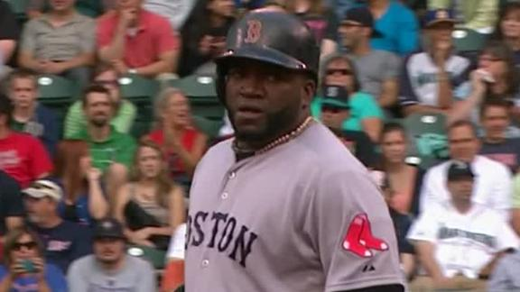 Ortiz breaks career record for hits by a DH
