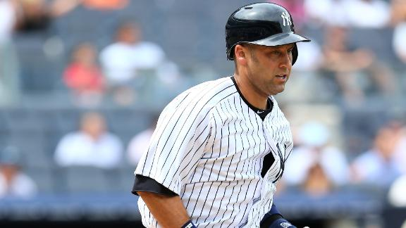 Jeter has quad strain, out until after break