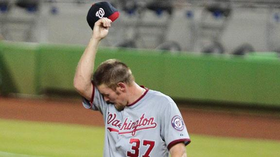 Marlins hand Strasburg worst loss of career