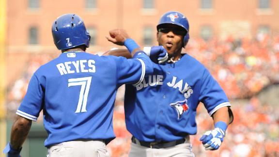 Jays withstand Davis' 36th HR to defeat O's