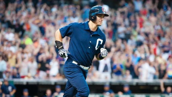 Chisenhall's 1st grand slam powers Indians