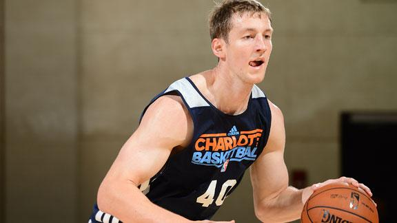 Video - Zeller Makes Summer League Debut