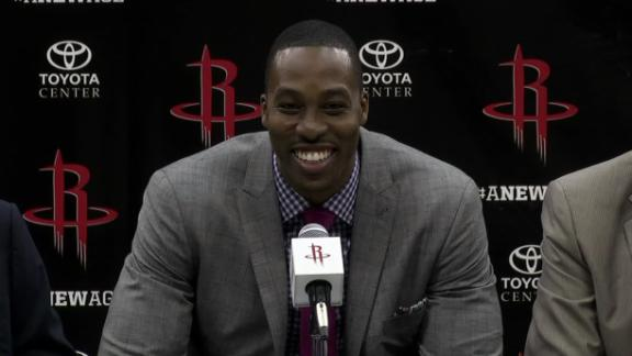 Howard welcomes 'fresh start' with Rockets