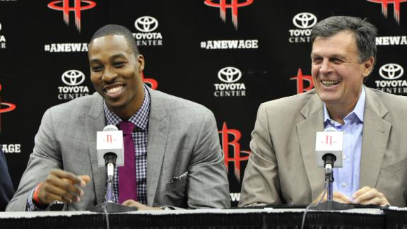 Video - Rockets Introduce Dwight Howard