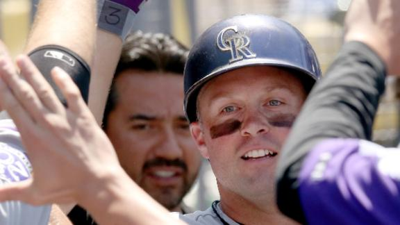 Cuddyer's HR sends Rockies past Dodgers