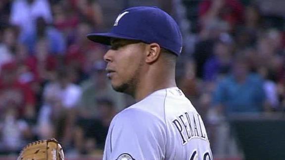 Brewers snap 4-game slide behind Peralta