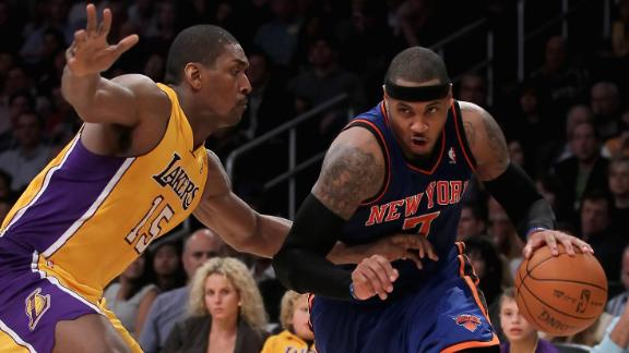 Source -- Metta World Peace hoping to join New York Knicks