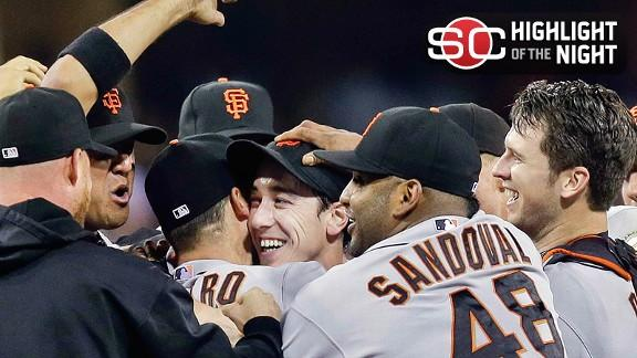 Video - Lincecum Throws No-Hitter