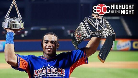 Video - Yoenis Cespedes Wins Home Run Derby