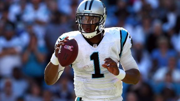 Panthers' Newton remains a fan of Falcons