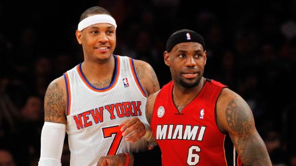 Video - Lakers Eye LeBron, Melo