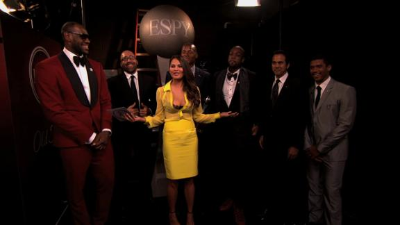 Video - Backstage At The ESPYS