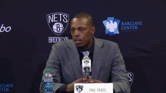 Video - Pierce, Garnett Introduced As Nets