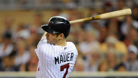 Video - Mauer, Twins Rally Past Indians